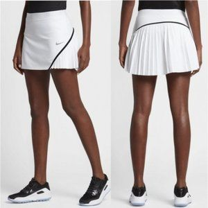 Nike Golf Pleated White Golf Skirt L